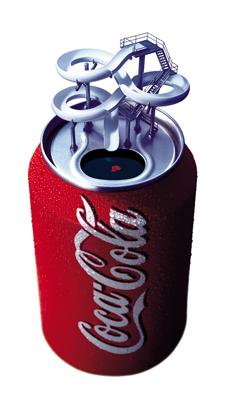 illustration, commercial illustration, commercial illustrator, coca cola, beverage illustration, directory of illustration, product illustration, commercial art