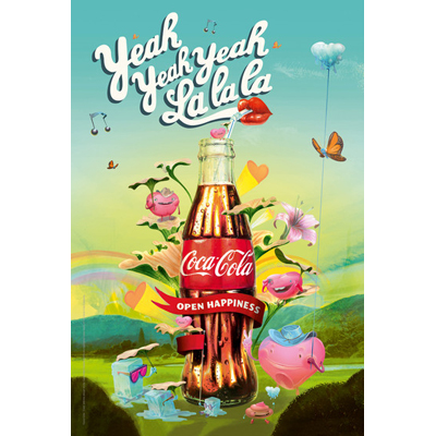 illustration, commercial illustration, commercial illustrator, coca cola, beverage illustration, directory of illustration, product illustration, commercial art