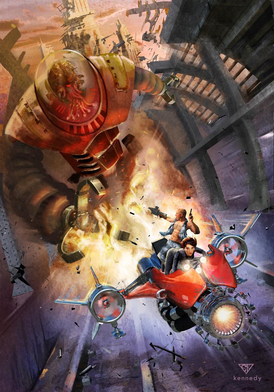 Science Fiction Concept Art Stock Illustration ... |Science Fiction Graphics