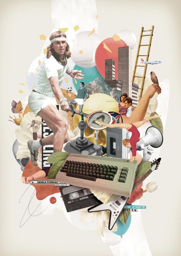 Nazario Graziano, Collage, Directory of Illustration