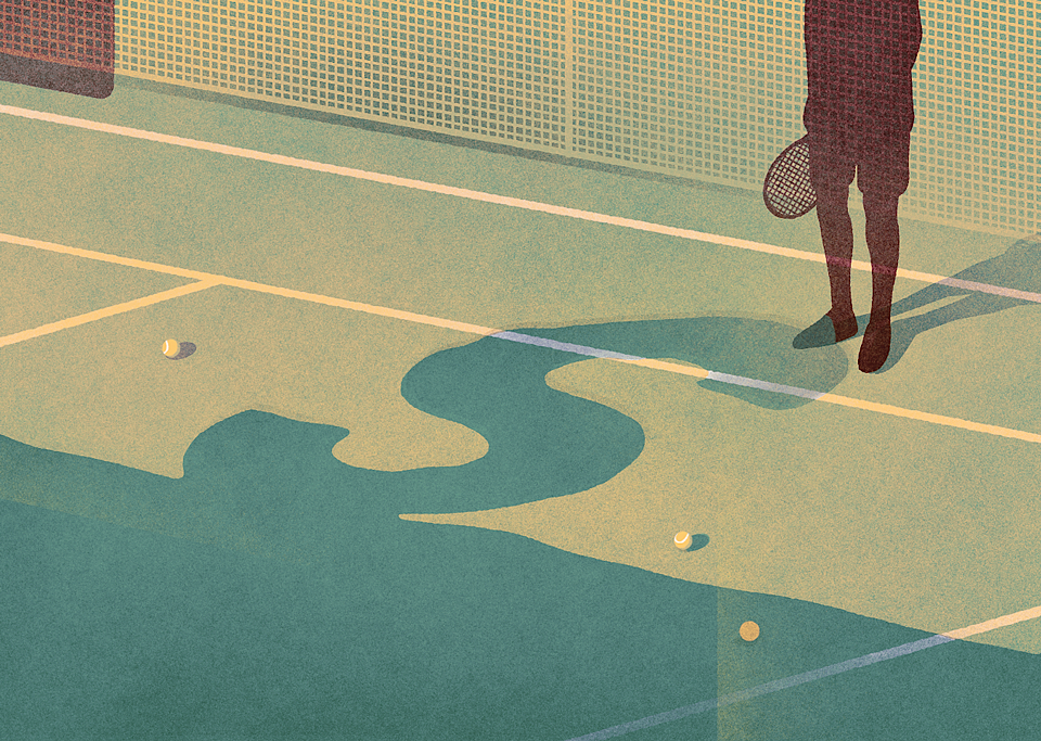 No place for the 's' word in Tennis