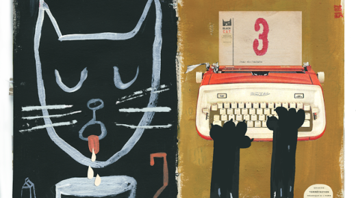 Black-cat-a-day: Days 2 & 3