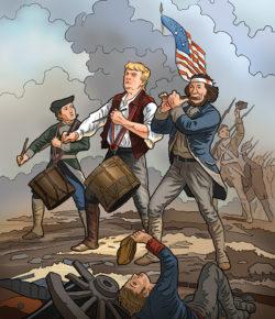 Trump & Clinton Coloring Books