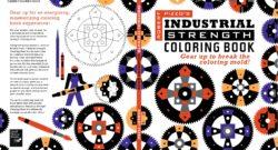 Robert Pizzo: Industrial Strength Coloring Book