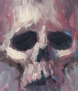 Mini skulls #minipainting #skull