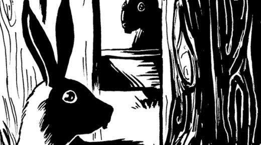 Daily Drawing: Rabbit 19