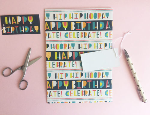 Abacus Cards Birthday Gift Wrap Commission