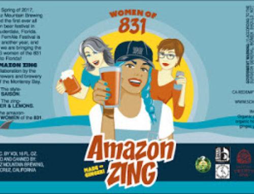 Amazon-Zing beer release party!