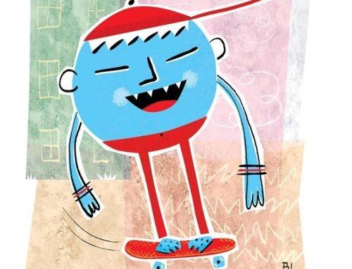Pernão Cabeça de Bola :: Leg Leggy Ball Head . . . . #ilustração…