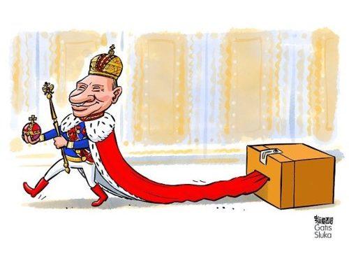 #putin #russia #politicalcartoon #путин #выборы2018 #россия 🗳🇷🇺…