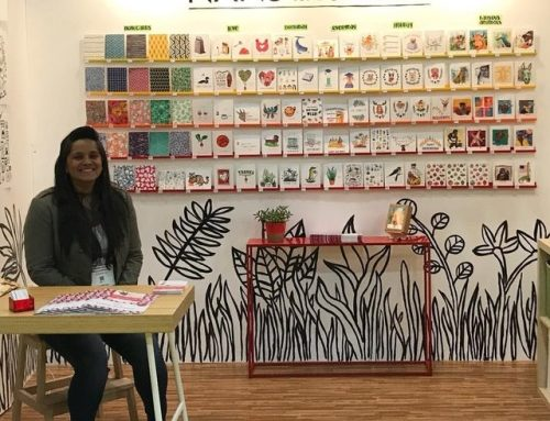 A creations with creator photo chillin at @stationeryshow! Come…