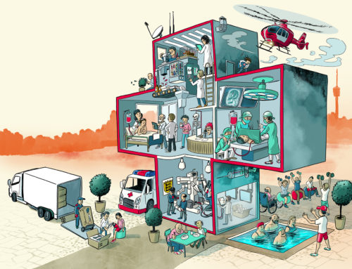 pharmaceutical industry illustration
