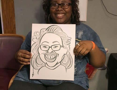 Grad Night Caricature 2018 pt 1
