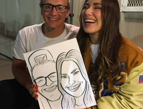 Grad Night Caricature 2018 pt 2