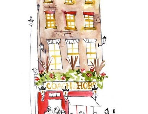 Crown & Horse, London #london #travelingartist…