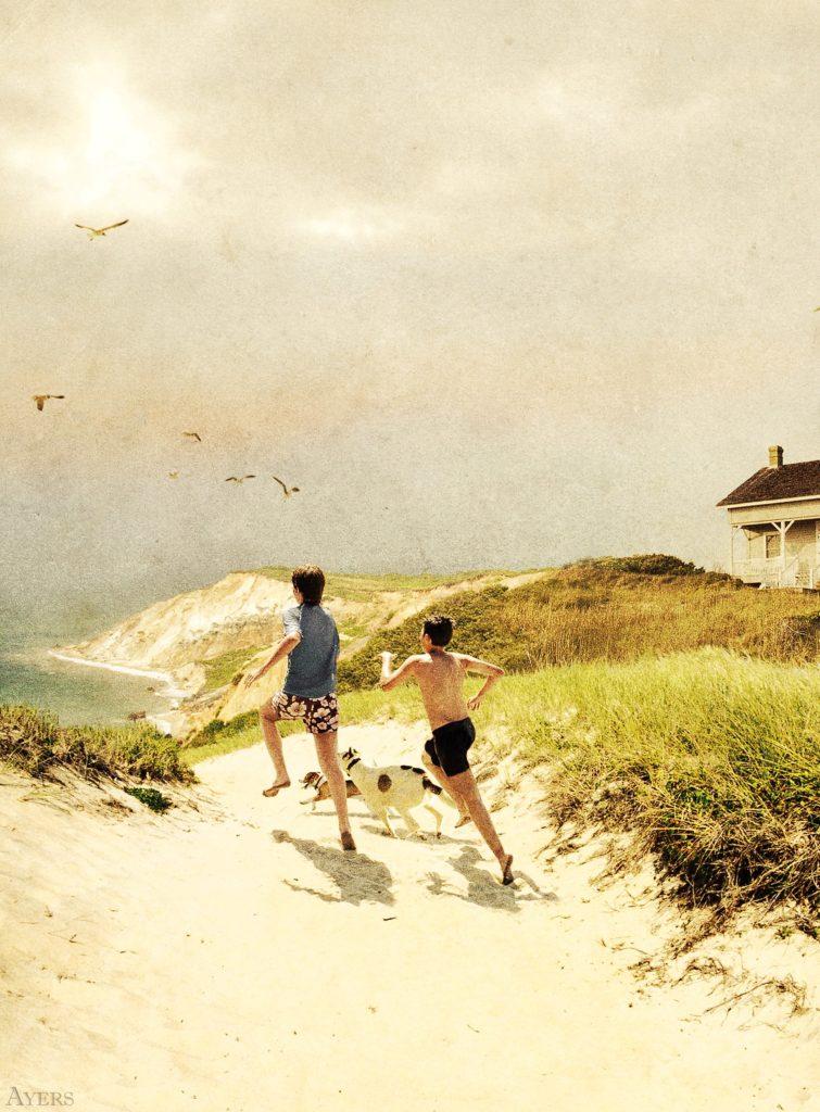 alan ayers boys running beach