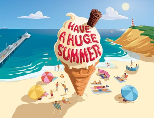 Top 10 Summer Illustrations