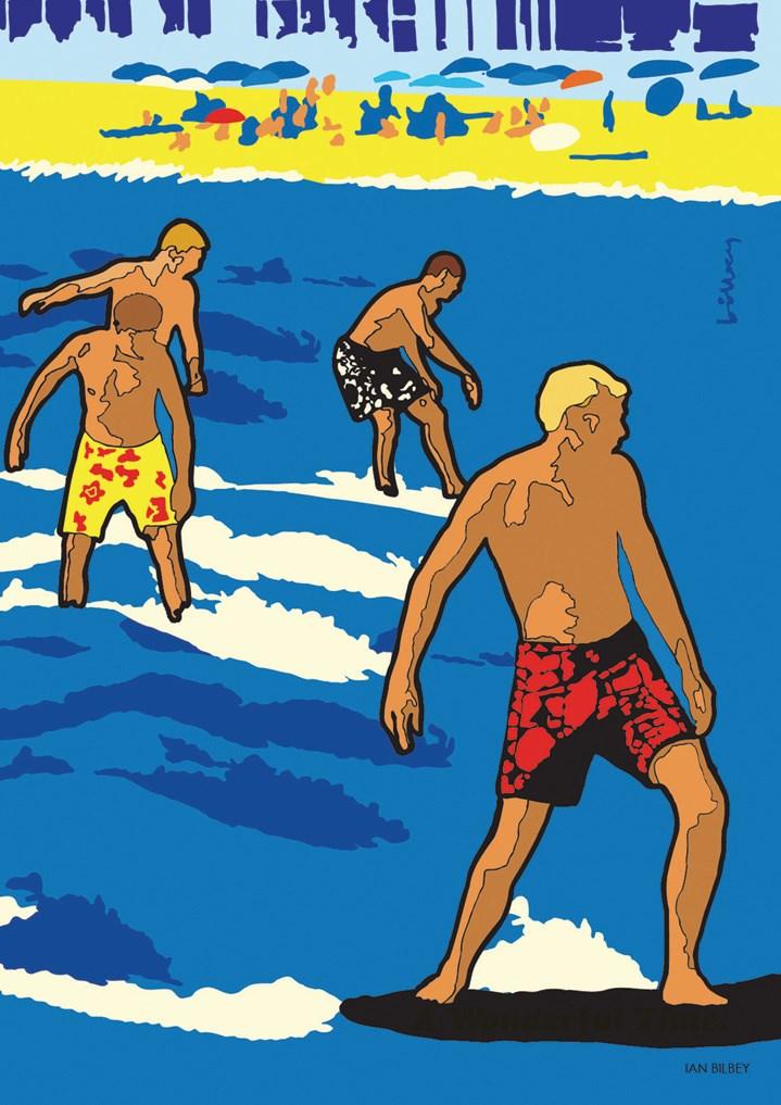 ian bilbey men surfing