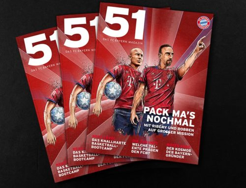 Cover Illustration for FC Bayern Munich