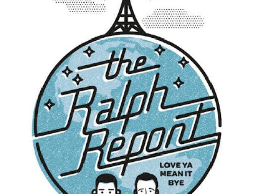 The Ralph Report Podcast Logo Idea