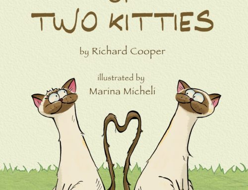 "Marina Micheli Commissioned to Illustrate ""A Tail of Two Kitties"""