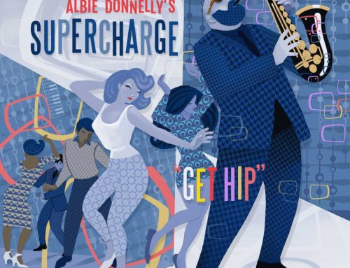 Nathan Smith Goes Retro for Supercharge's Album Cover Design