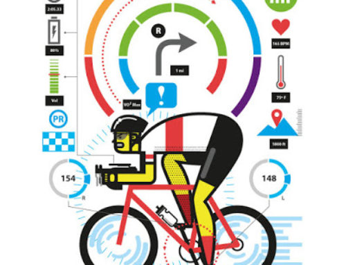 Cycling Data Infographic