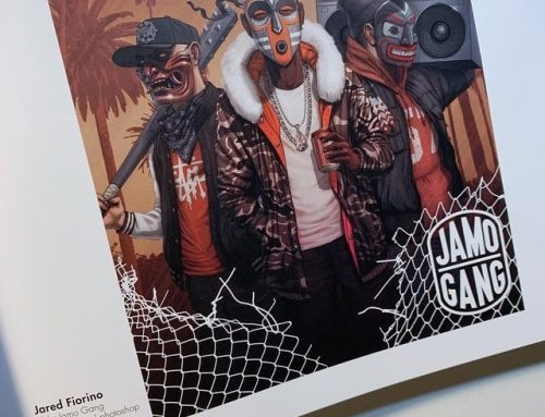 The cover art I created for Jamo Gang is featured in Spectrum…