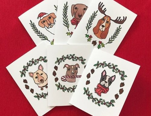 It is almost time for these dudes!! Holiday Pup cards are…
