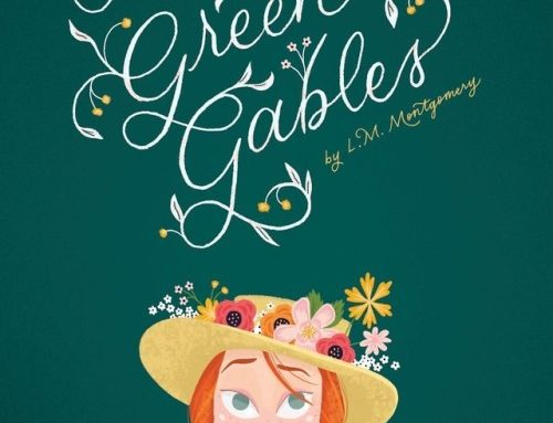 Anne of Green Gables book cover design by Shea O'Conner…