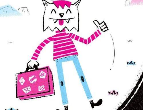 Bichano caroneiro! :: Hitchhiker cat! . . . . #illustration…