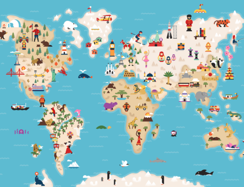 Around the World: Top 15 Map Illustrations