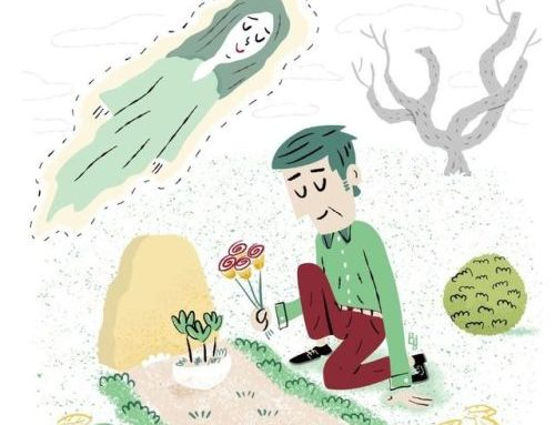 Grief illustration created for Bright…