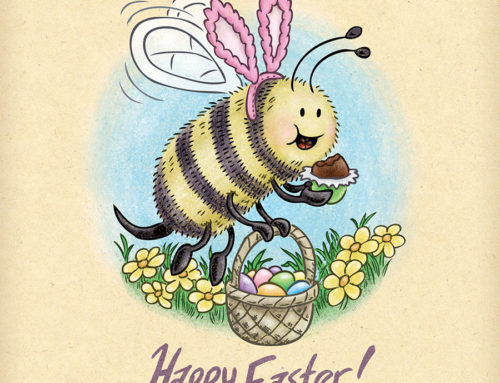 Happy Easter Bee