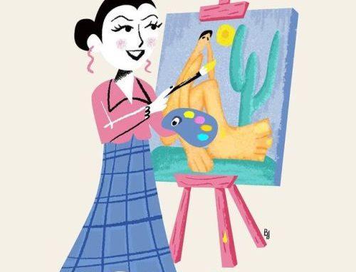 Ilustrações criadas para a seção 'Passatempo' da revista Todos,…