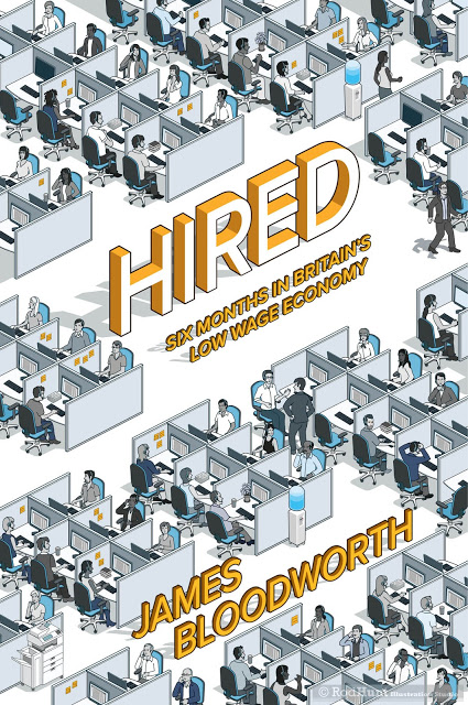 Hired: Six Months in Britain's Low Wage Economy Book Cover Illustration
