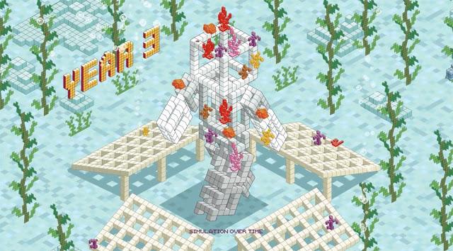 Isometric Pixel Art Advertising Animation