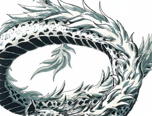 dianeramic:Dragontober Day 15