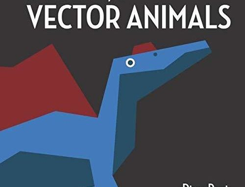 My new artbook is finally out!It has over 130 stylized vector illustrations of animals from the past…