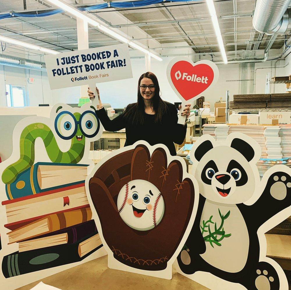 Follett Marketing Manager, Rebecca Adolf