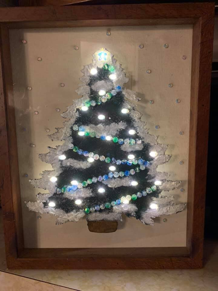 Oh Christmas Tree by Cheryl Mitchell