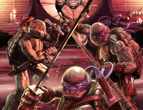 Job Showcase: Alex McArdell for Teenage Mutant Ninja Turtles IDW Comic