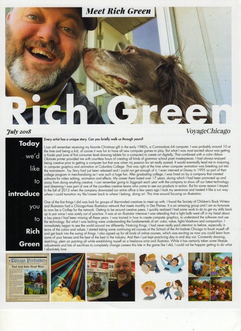 VoyageChicago Meet Rich Green pg1