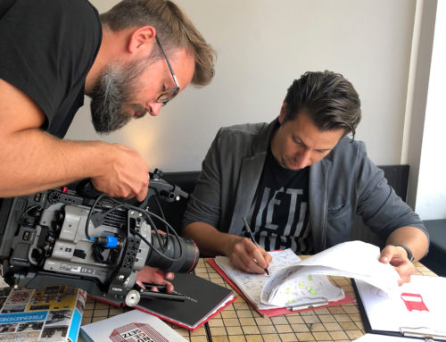 Making-Of: Report for German TV-Station