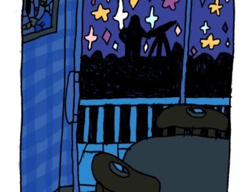 night gazing