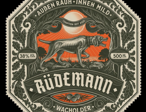 Branding created by Florian Schommerin the form of this label…