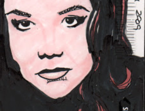 Emma Peel Artist Proof Sketch Cards
