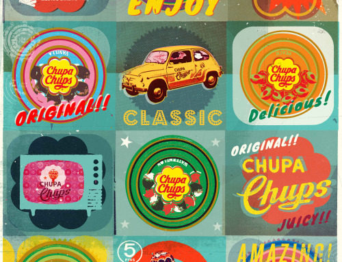 Illustrations by Alex Williamson for Chupa Chups.
