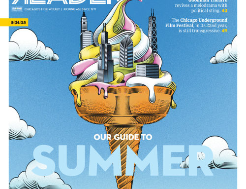 Yann Legendre's illustrations featured on the Summer Guide cover…