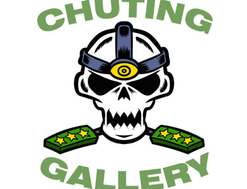 Chuting Gallery Embroidered Hat Skull Logo